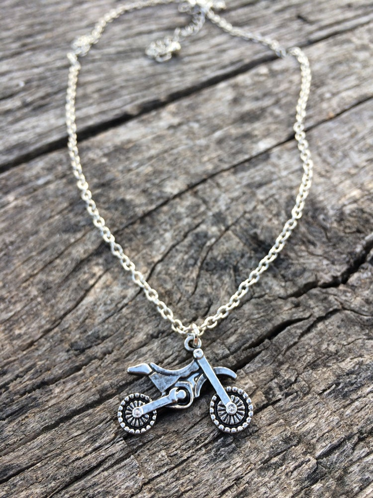 Image of Dirt Bike Necklace
