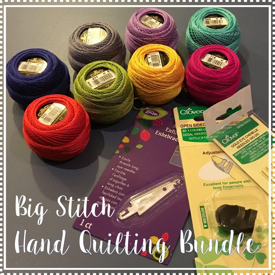 Image of Big Stitch Hand Quilting Bundle