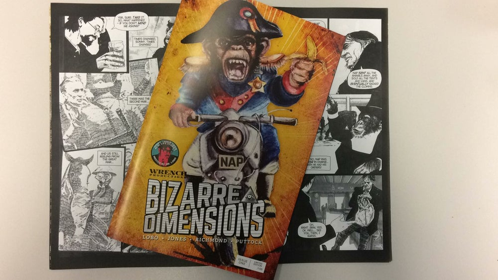 Image of Bizarre Dimensions #1 PRINT COMIC limited edition of 100