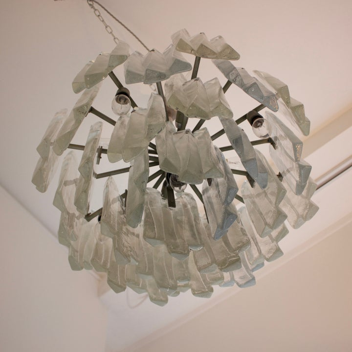 Image of Kalmar Glass Chandelier