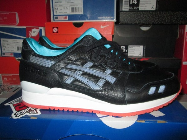 "Asics Gel Lyte III (3) ""Miami Vice - Blk"" - FAMPRICE.COM by 23PENNY"