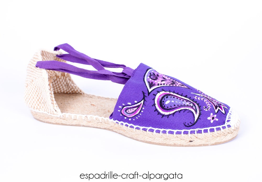 Image of Hand Painted Valencian Espadrilles - many colors