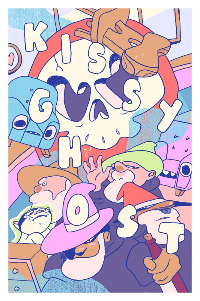 Image of KissyGhost Poster