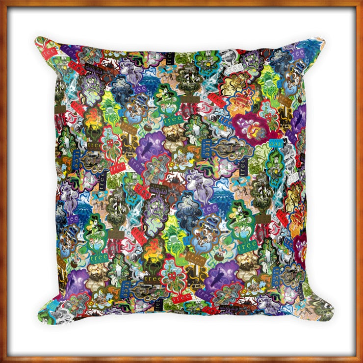 Image of All Over Trees Pillow