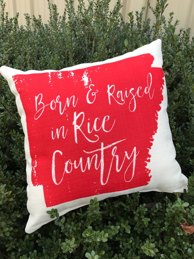 Image of Born & Raised Throw Pillow