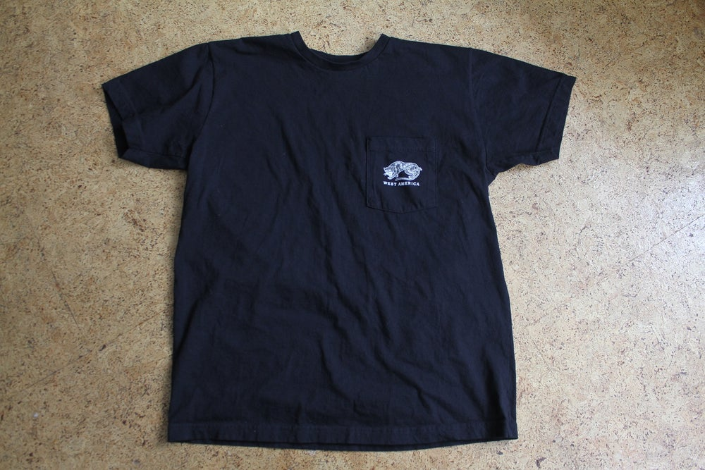 Image of W/A small jaguar pocket T-shirt
