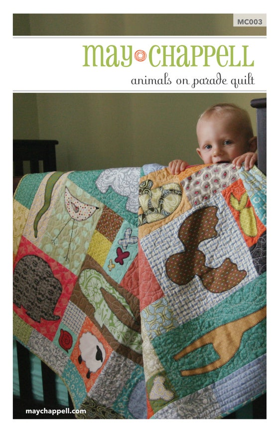Image of Animals on Parade Quilt