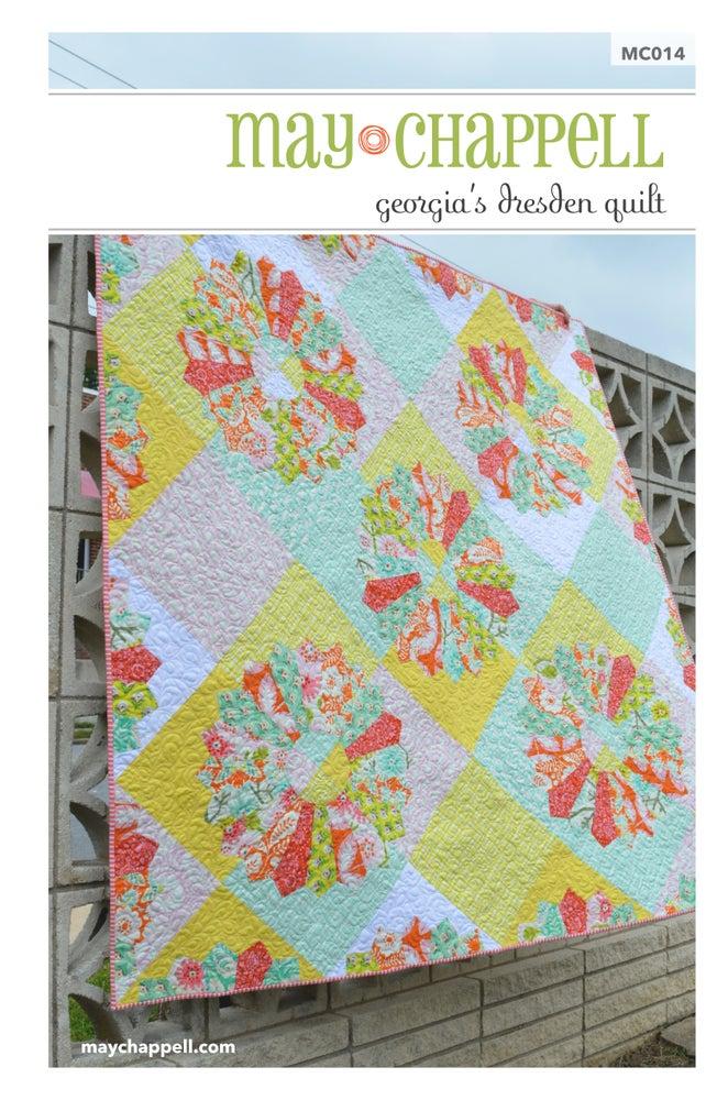 Image of Georgia's Dresden Quilt