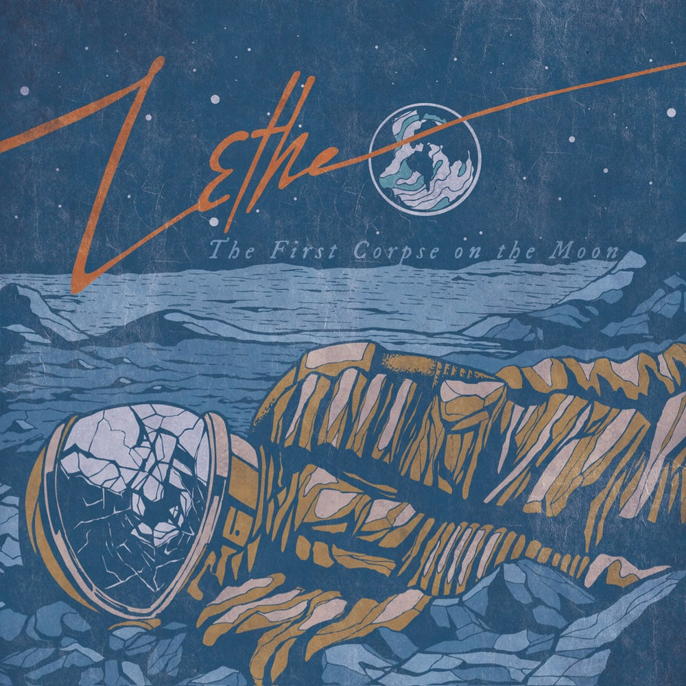 """Image of LETHE """"The First Corpse On The Moon"""" digiCD"""