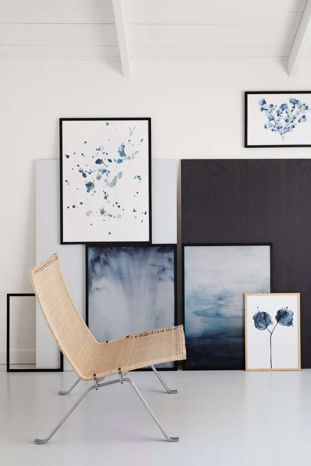 Trine holbaek designs — blue water splash