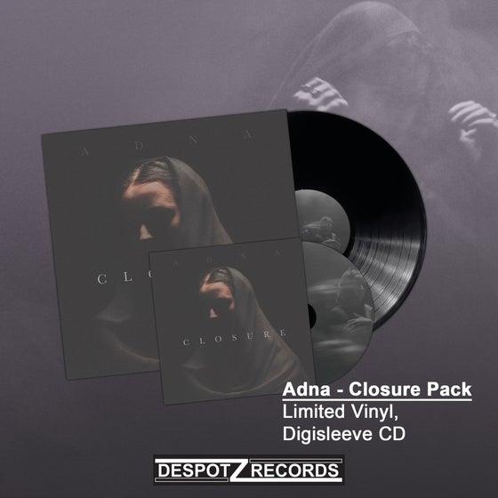 Image of Adna - Closure Pack (CD, Limited Vinyl)