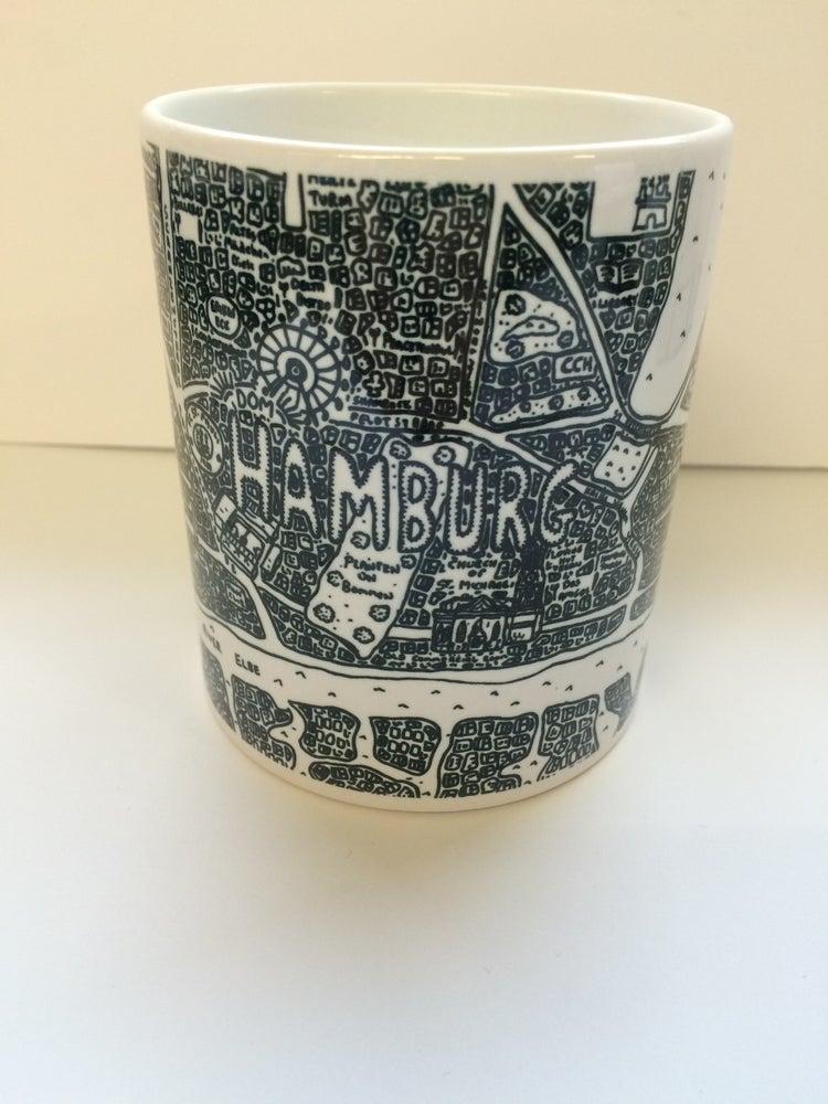 Image of Hamburg Doodle Mug