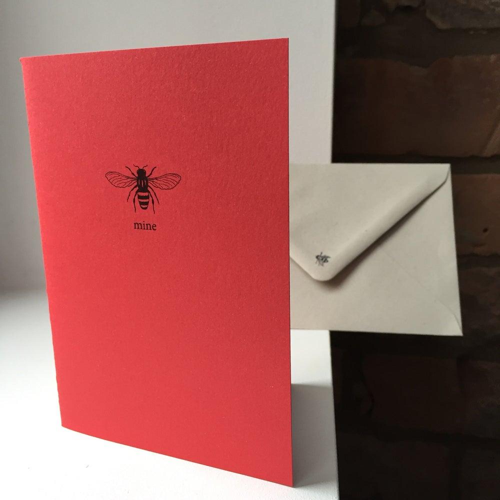 Image of Bee Mine Valentine's Card