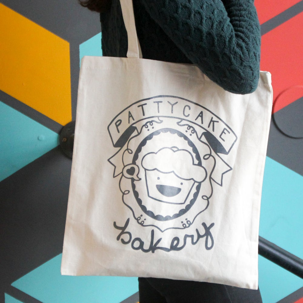 Image of pattycake tote bag