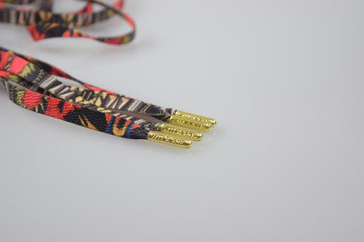 "Image of Exclusive ""Watch Da Throne"" LE Custom Laces"