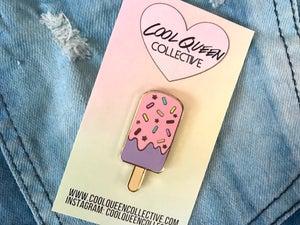 Image of Popsicle Sprinkles Enamel Pin
