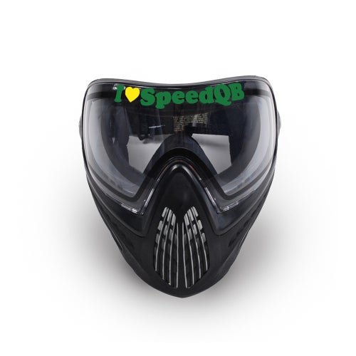 Image of I Love SpeedQB Decal - OR Green (2)