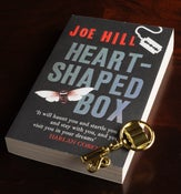Image of Signed Set: Heart-Shaped Box (UK paperback) & Biblio Key! - SOLD OUT