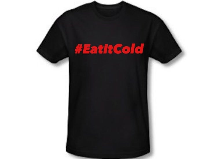 Image of #EatItCold By Pookie Jr Black (Red)