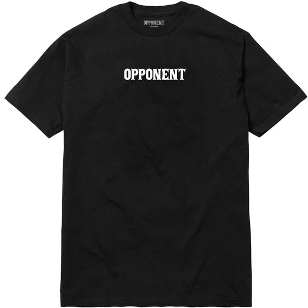"Image of ""Logo"" Tee [blk]"
