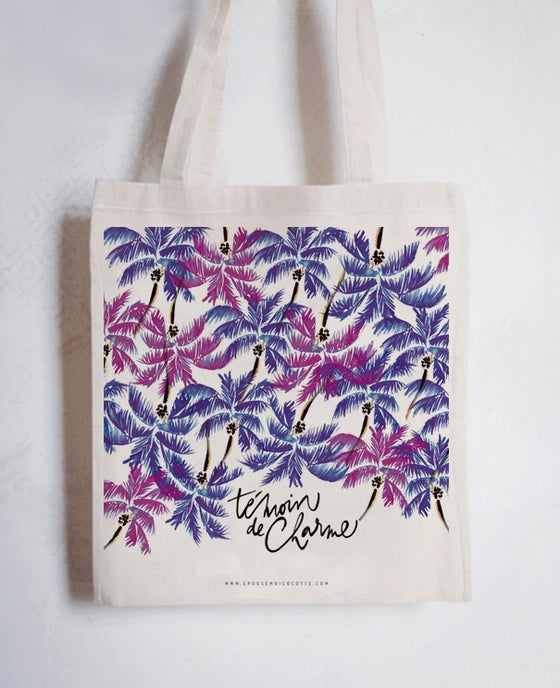 Image of NOUVELLE COLLECTION • Tote bag TÉMOIN DE CHARME