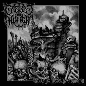 Image of Casket Huffer - Gospels of Scum LP *Black and Silver Merge*