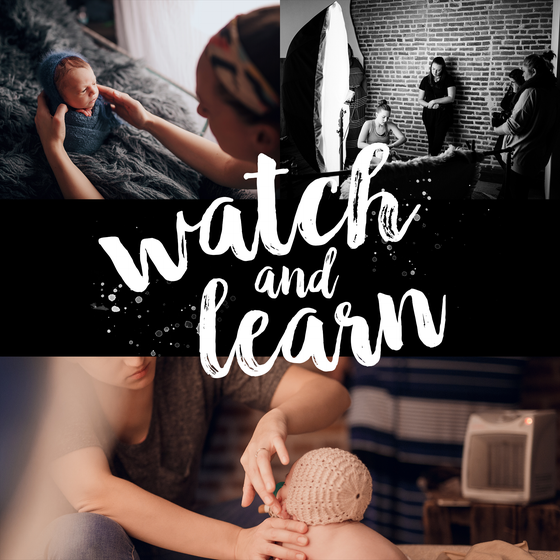 Image of March 18th - Watch and Learn Workshop