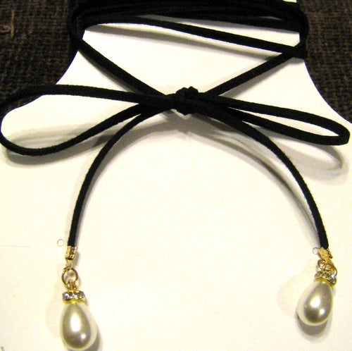 Image of Lariat Pearl Necklace