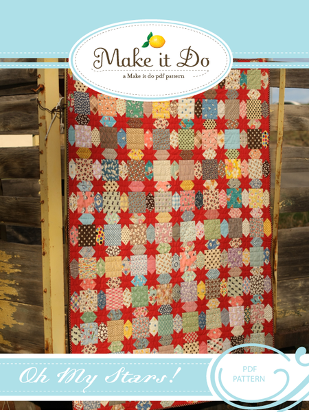 Image of Oh My Stars! PDF Quilt Pattern