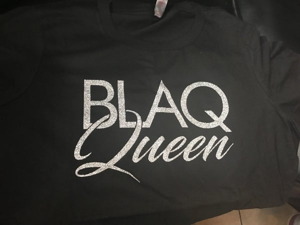 Image of BLAQ QUEEN BLACK AND SILVER
