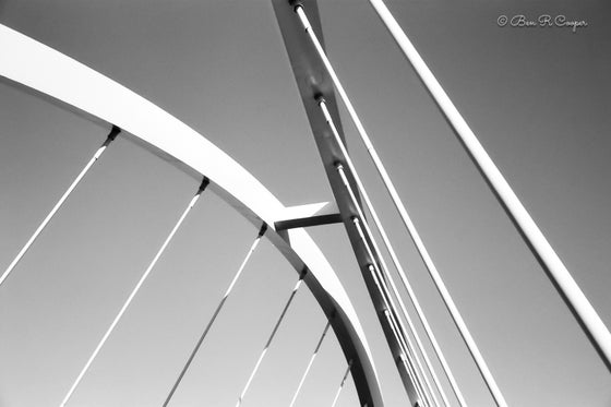 Image of Looking up at the Lowry Avenue Bridge
