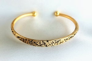 Image of Rustic Hammered Bangle