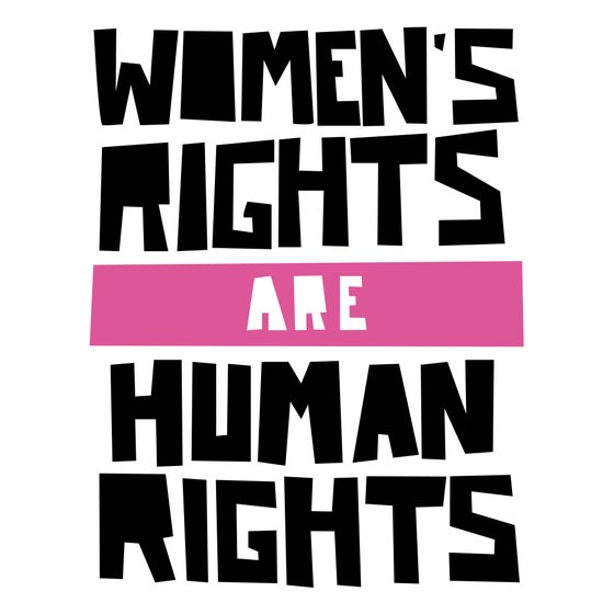 Image of Women's Rights are Human Rights