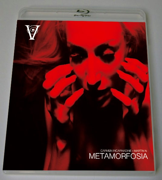 Image of METAMORFOSIA - BLU-RAY-R + DVD (HD COLLECTION #7) Signed and Stamped, Limited 50