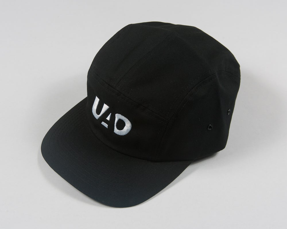 Image of UAO Clothing Co. Embroidered LM Logo 5 Panel Camping Hat