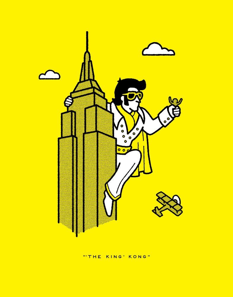"Image of RRC No. 011: ""'The King' Kong"""