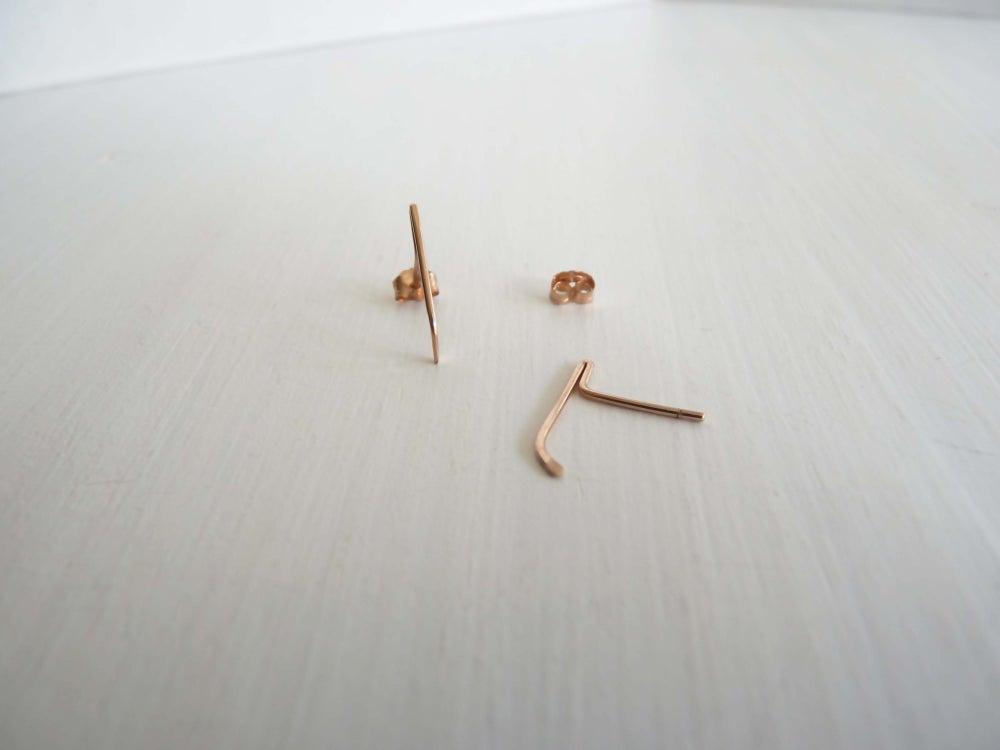 Image of Mini blade earrings