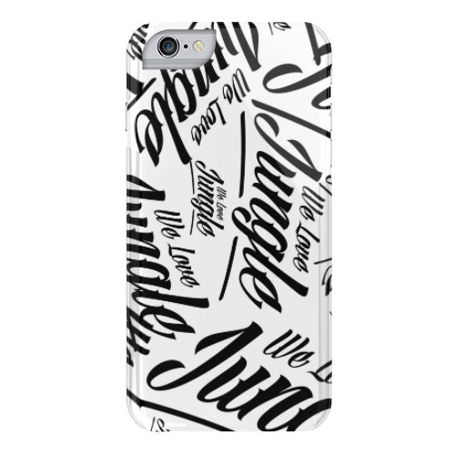 Image of We Love Jungle Phone Case - W+B