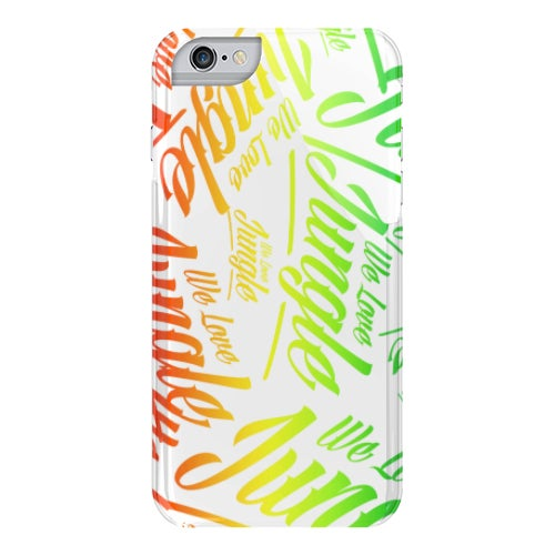 Image of We Love Jungle Phone Case - Multi Colour