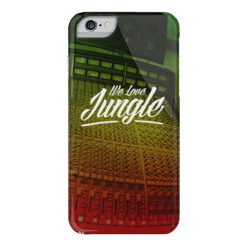 Image of We Love Jungle Phone Case - Mixer