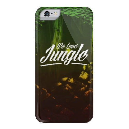 Image of We Love Jungle Phone Case - Puddle