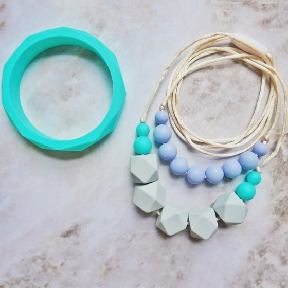 Image of Buddleja teething necklace