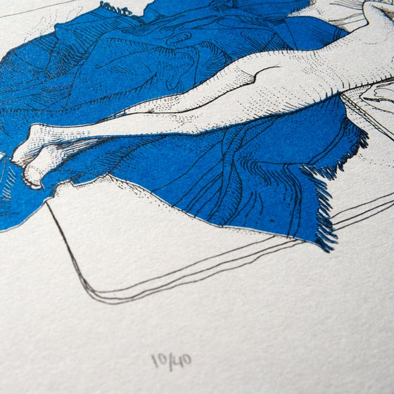 Image of #58 Between The Lines Print