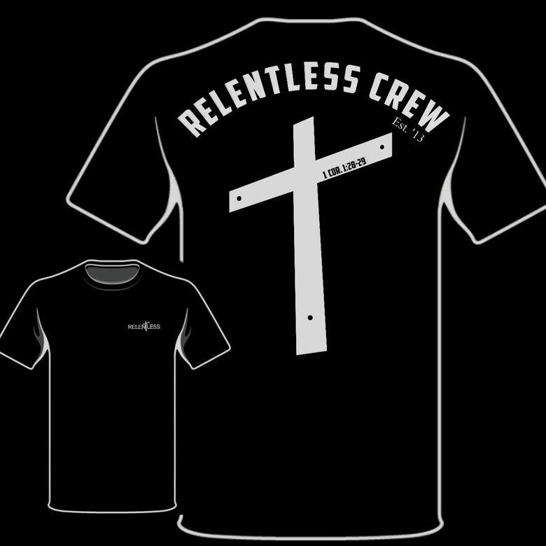 """Image of Relentless Crew """"Crucifix"""" Tee"""