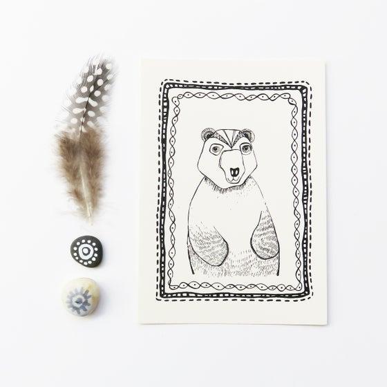 Image of Hello Bear - Card