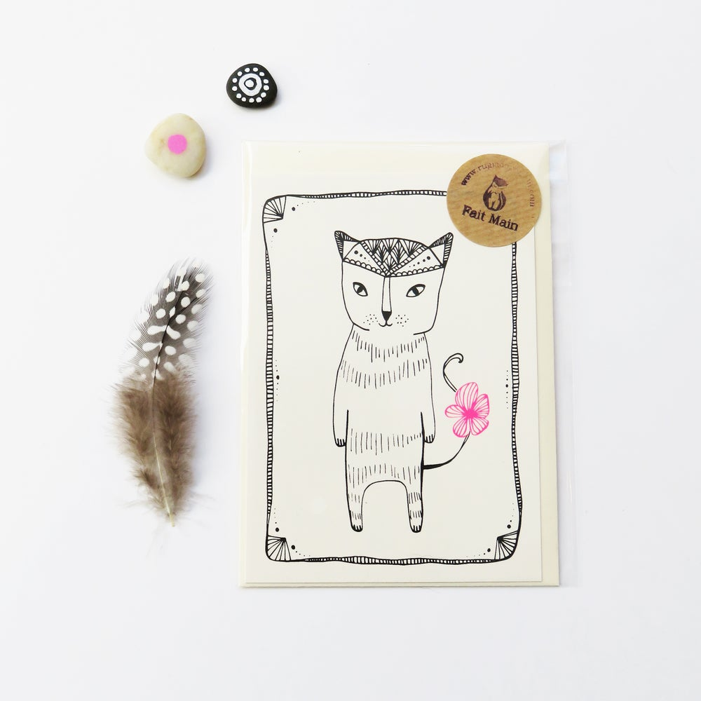 Image of Kitty Cat - Card
