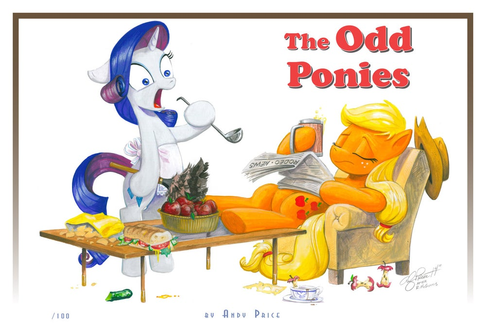 Image of The Odd Ponies - Limited Edition Print