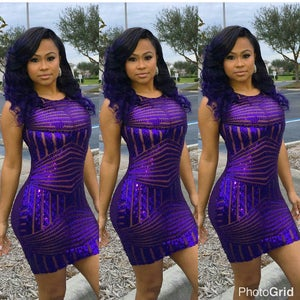 Image of Purple Magic Dress
