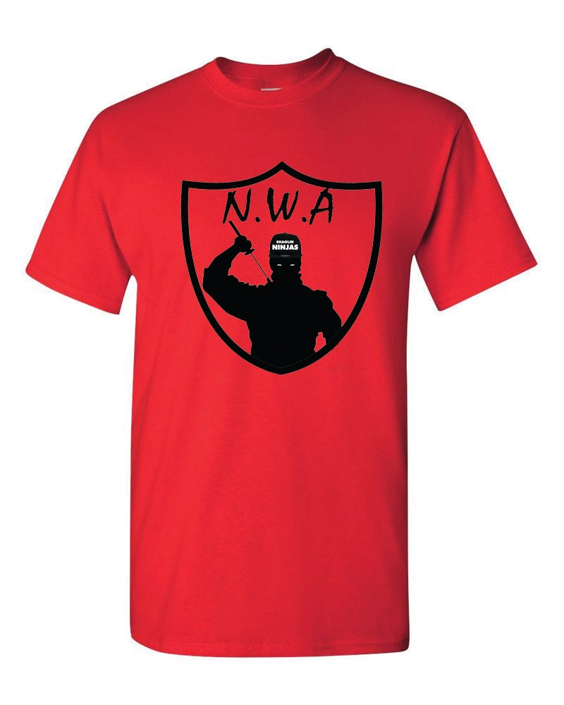 "Image of ""N.W.A""- Red"