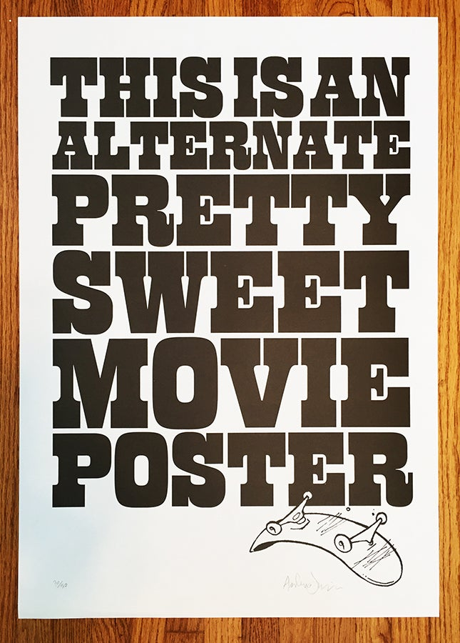 Image of PRINT: Pretty Sweet Jenkins poster